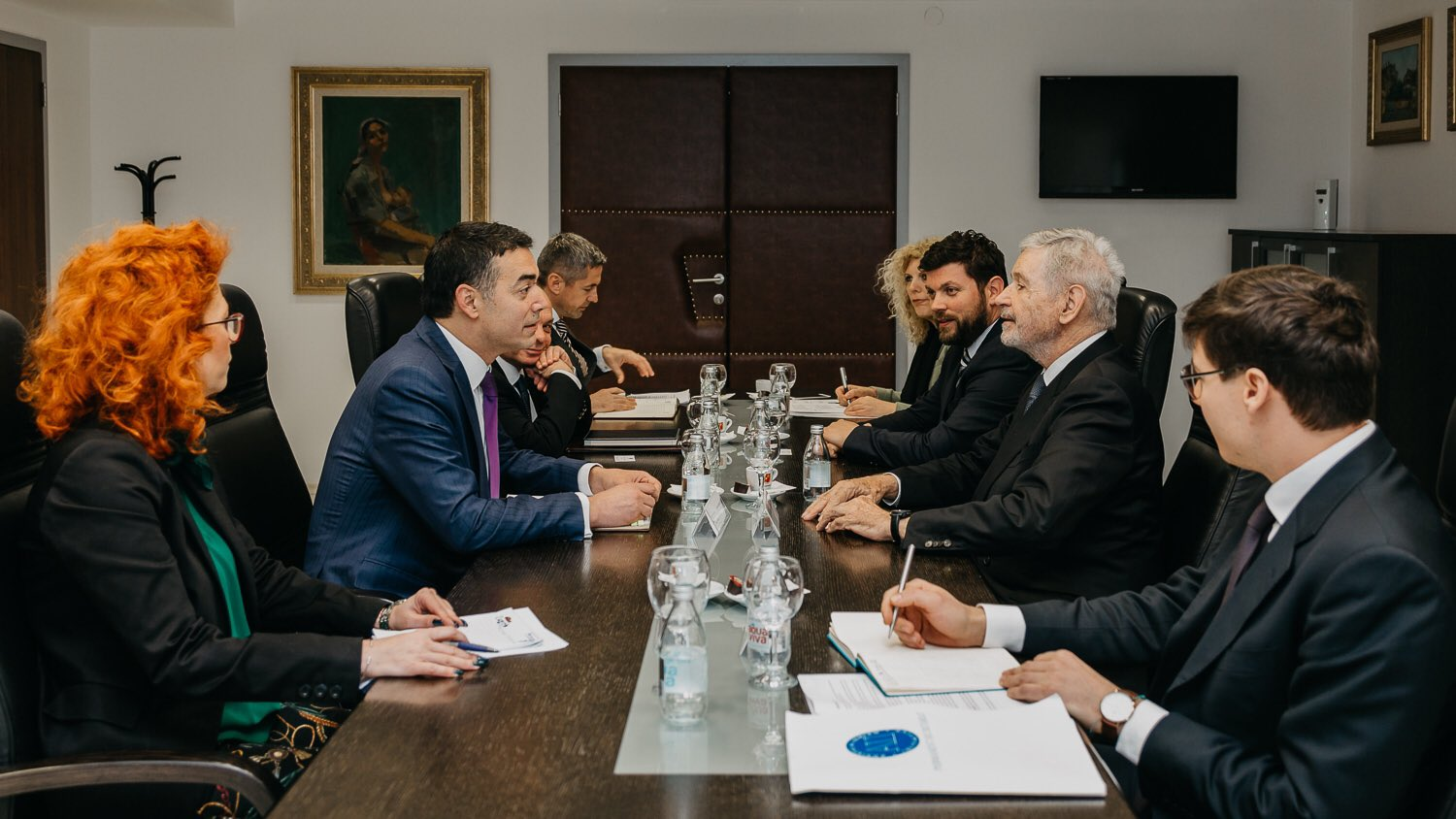 AII JOINT OFFICIAL VISIT TO THE REPUBLIC OF NORTH MACEDONIA - SKOPJE, 27-28 MARCH 2019