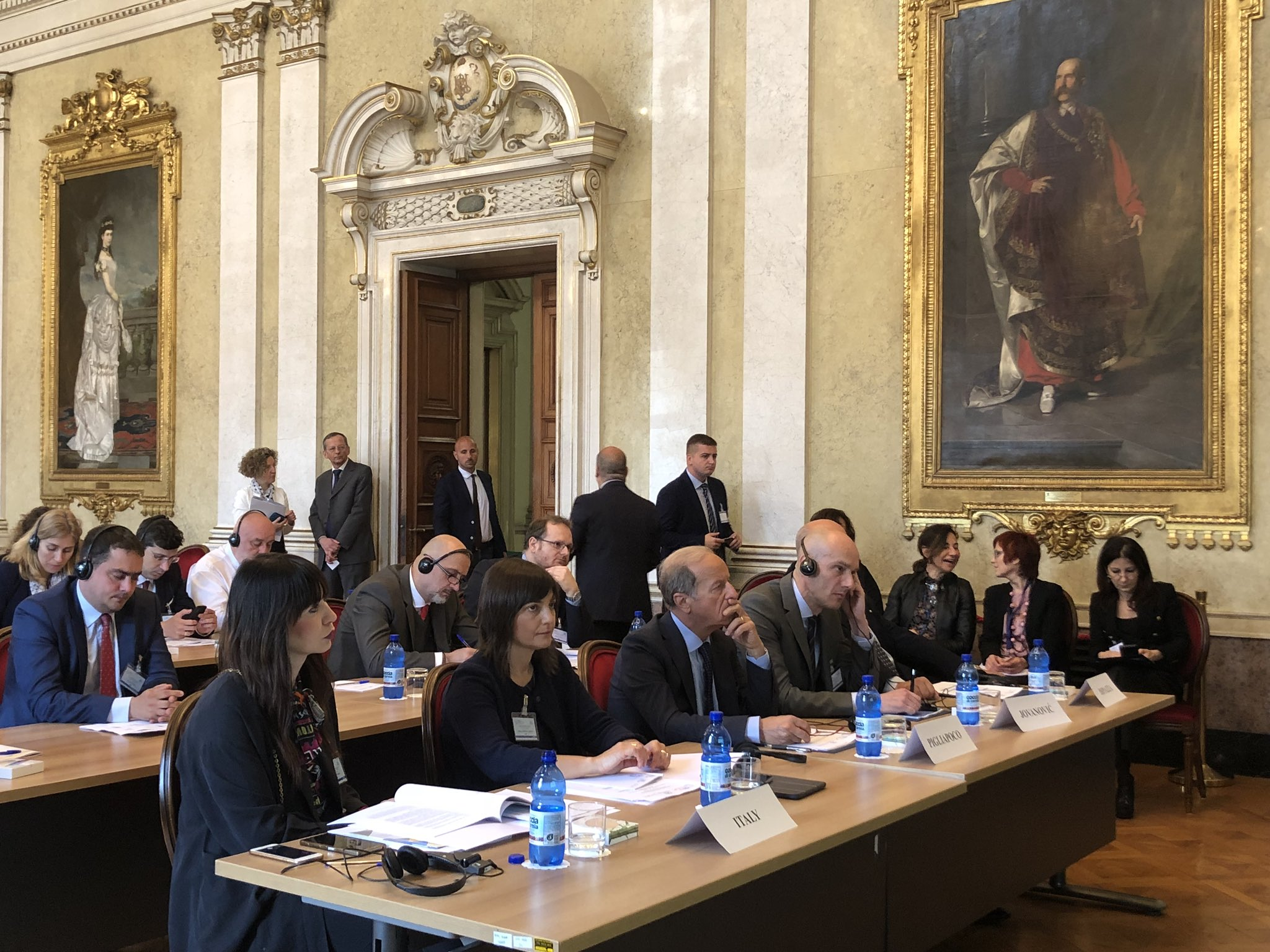 Amb. Pigliapoco as keynote speaker at the CEI Parliamentary Committee in Trieste – 27-28 May