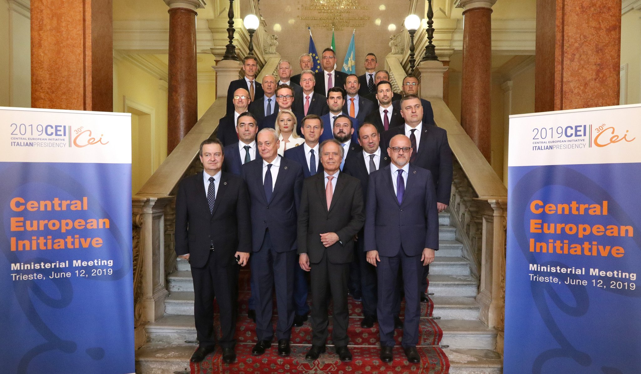 AII Secretary General attending CEI Ministers of Foreign Affairs meeting in Trieste – 11-12 June 2019