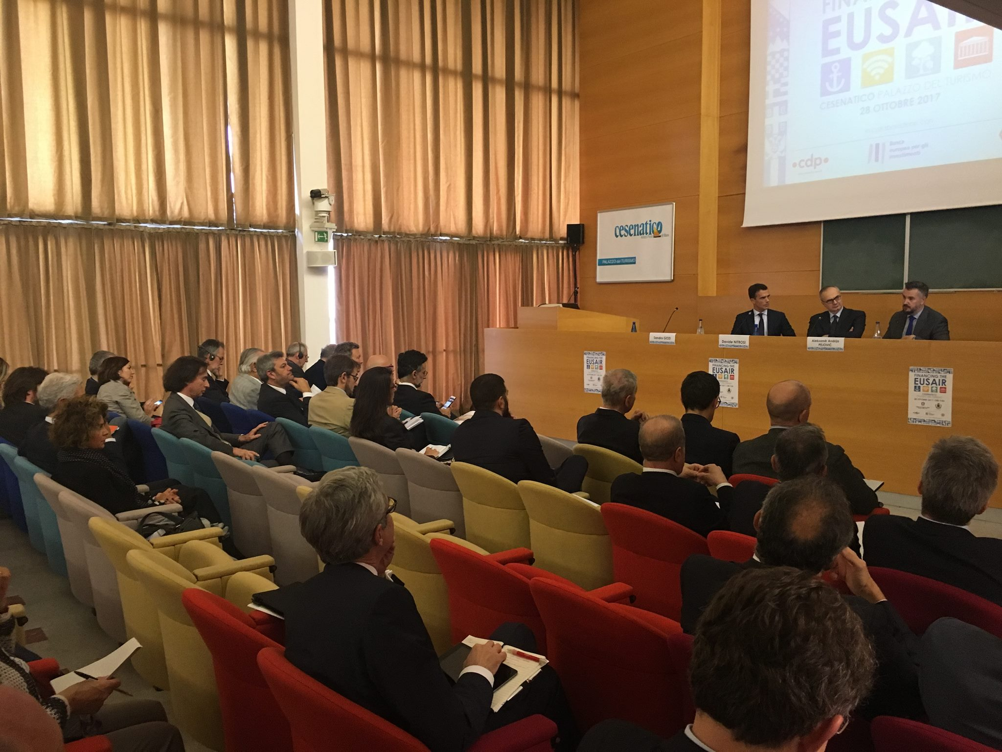 "Conference on ""Financing the EUSAIR"" held in Cesenatico"