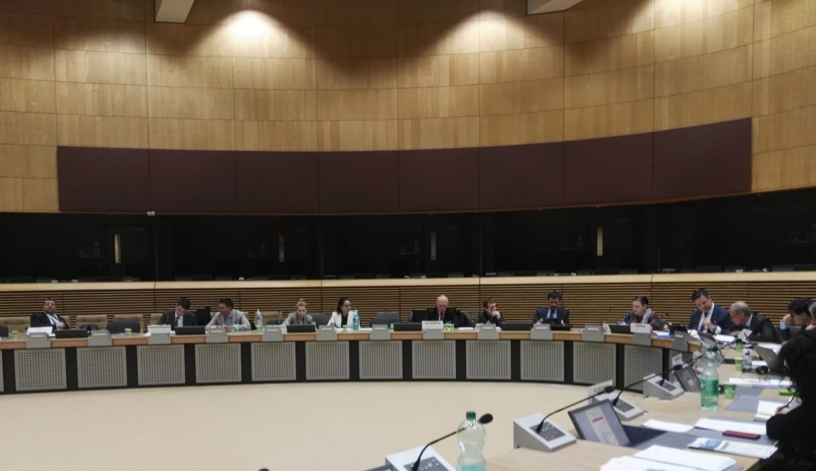 II AII COMMITTEE OF SENIOR OFFICIALS AND 11TH EUSAIR GOVERNING BOARD HELD IN BRUSSELS - 18 FEBRUARY 2020